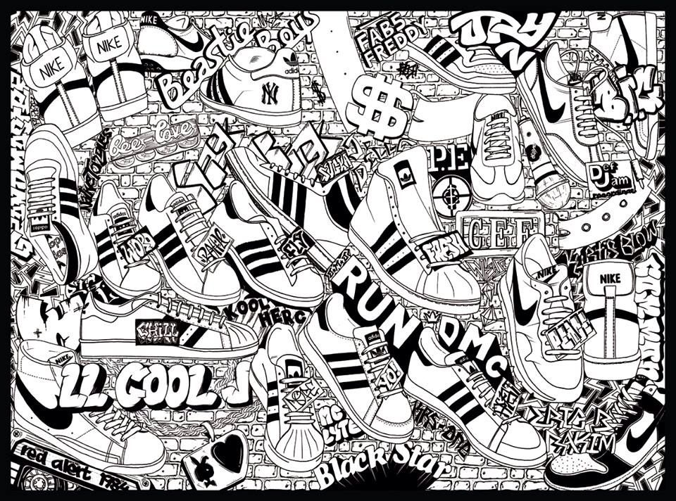 school adidas hip hop