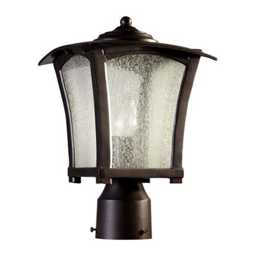 Quorum International 7512 8 86 Gable 1 Light Ambient Lighting Post In Oiled