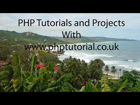 PHP Tutorial active web pages Project