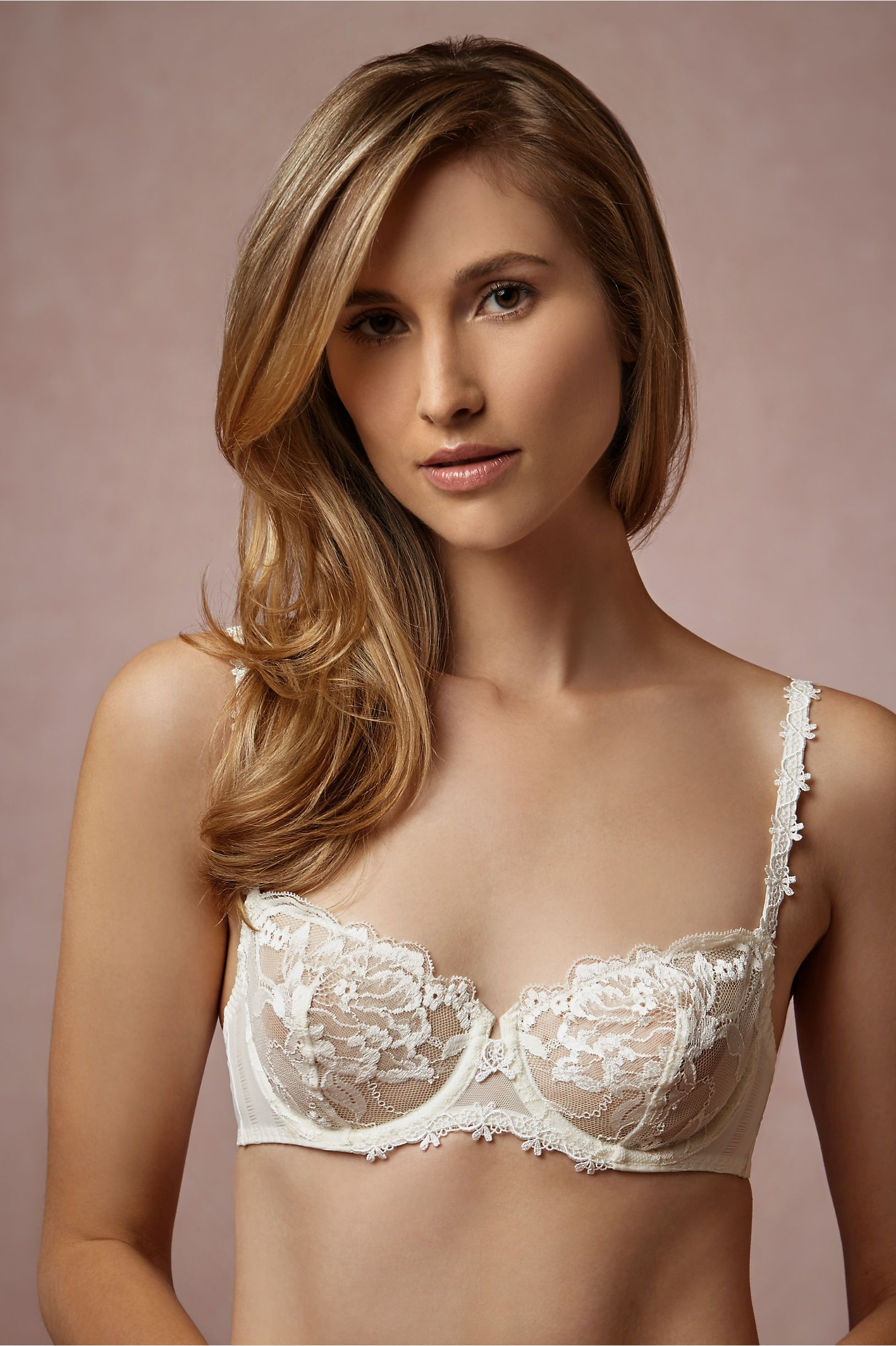 207151fd6f Guipure Lace Demi Bra in Lingerie View All Lingerie at BHLDN ...