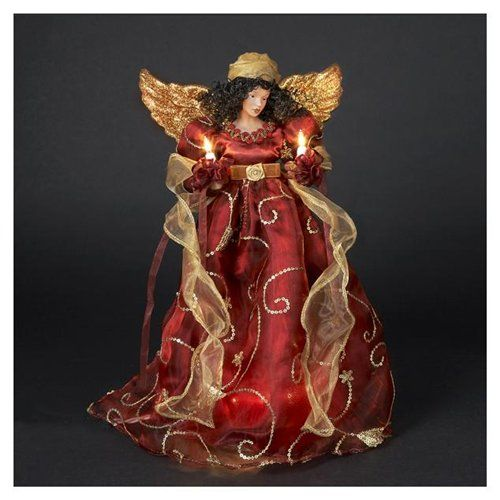 African Angel Tree Topper African American Christmas