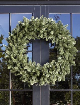 Jefferson Double Door Wreath #doubledoorwreaths Get a Jefferson Double Door Chri...,  #Chri #... #doubledoorwreaths