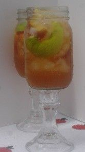 Southern Sweet Tea Sangria #summersouthernfood