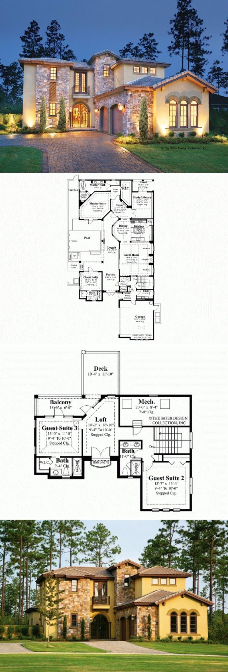 mediterranean house plan hwepl13160 gentleman s homes mediterranean house plan hwepl13160