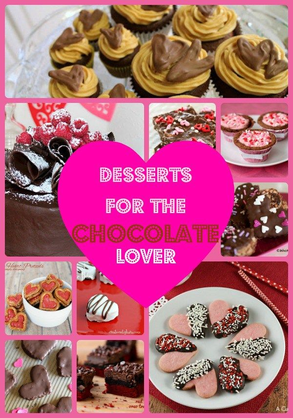 Valentine\'s Day Desserts for the Chocolate Lover | Easy chocolate ...