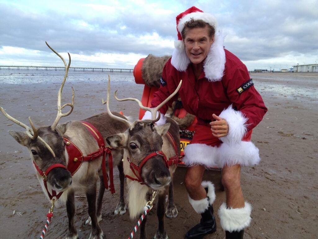 david hasselhoff baywatch Google Search Santa claus