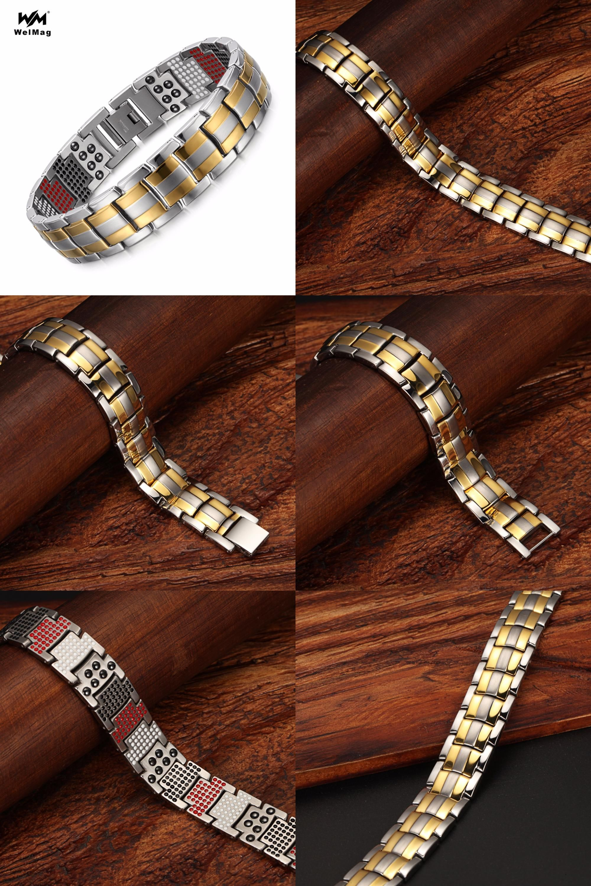 Visit to buy welmag fashion jewelry healing fir magnetic bracelets