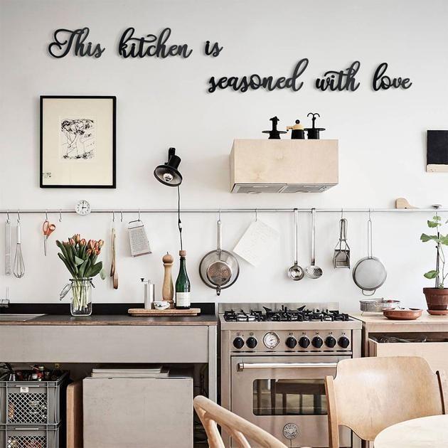 This Kitchen Is Seasoned With Love Mutfak