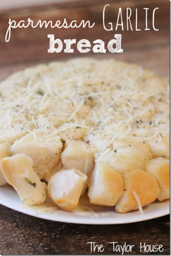 Parmesan Garlic Bread Recipe - purecipes.com  @Caite Elizabeth before you go back to the strict days!!