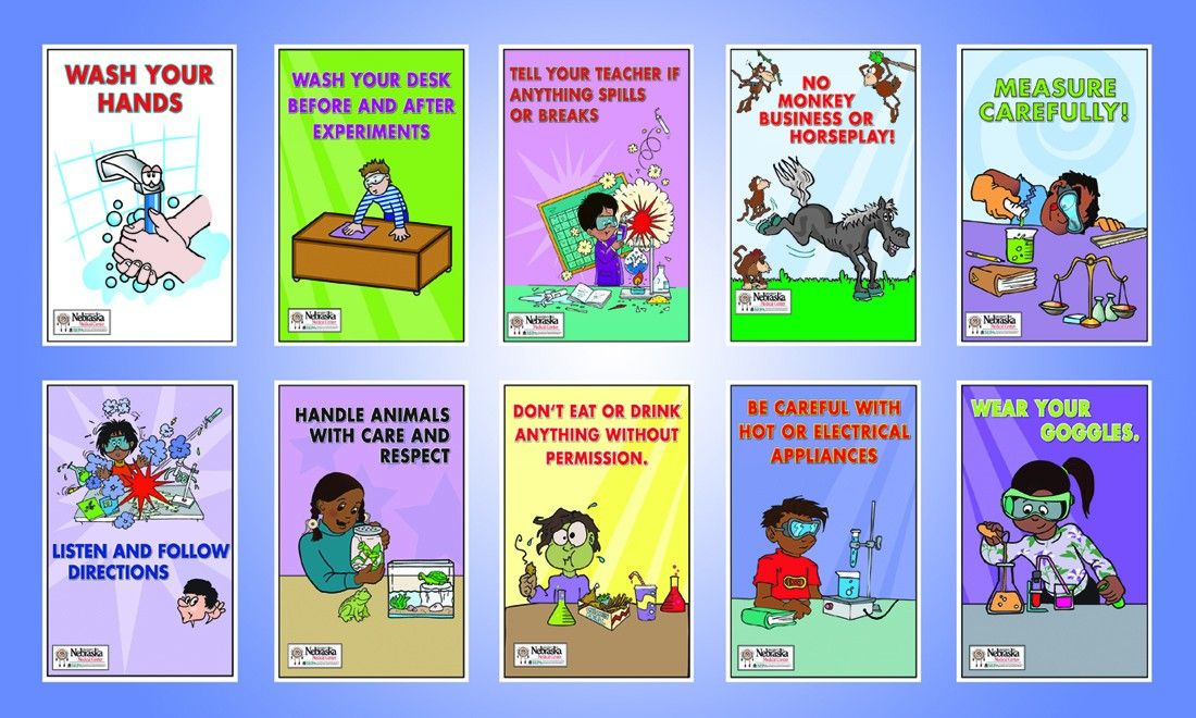 Chemistry Lab Safety Poster WeSharePics Lab safety