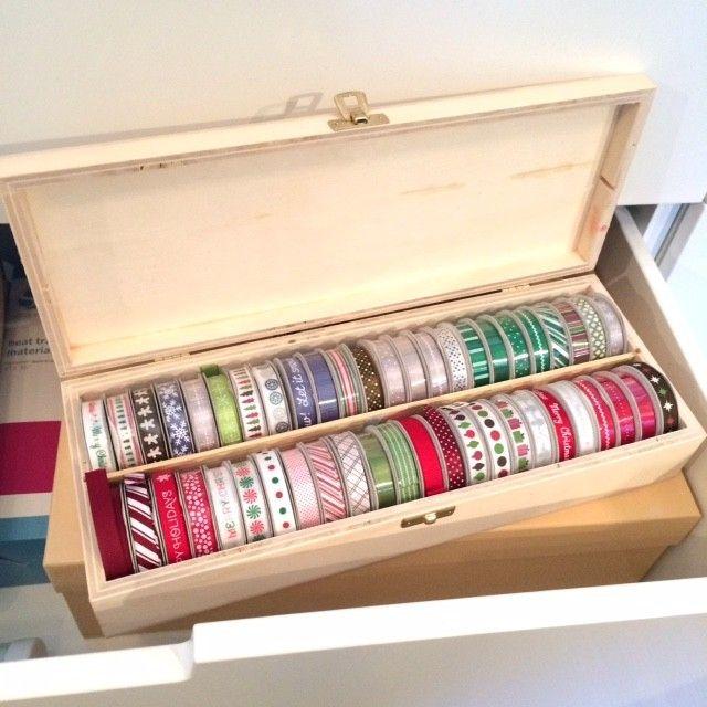15 Kitchen Pantry Ideas With Form And Function: Aufbewahrung Für Geschenkbänder