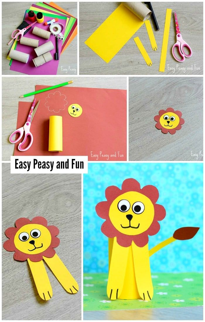 Paper Roll Lion Craft Toilet Paper Roll Crafts Toilet Paper