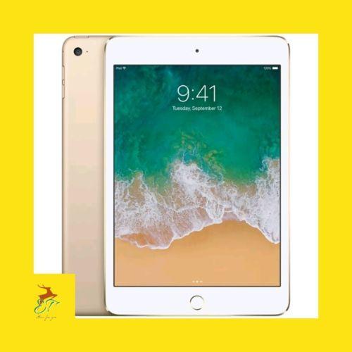 Apple Ipad Mini 4 128gb Wi Fi Gps Tablet 7 9 Retina Display Gold New 2018 Ipad Ipad Mini Wi Fi