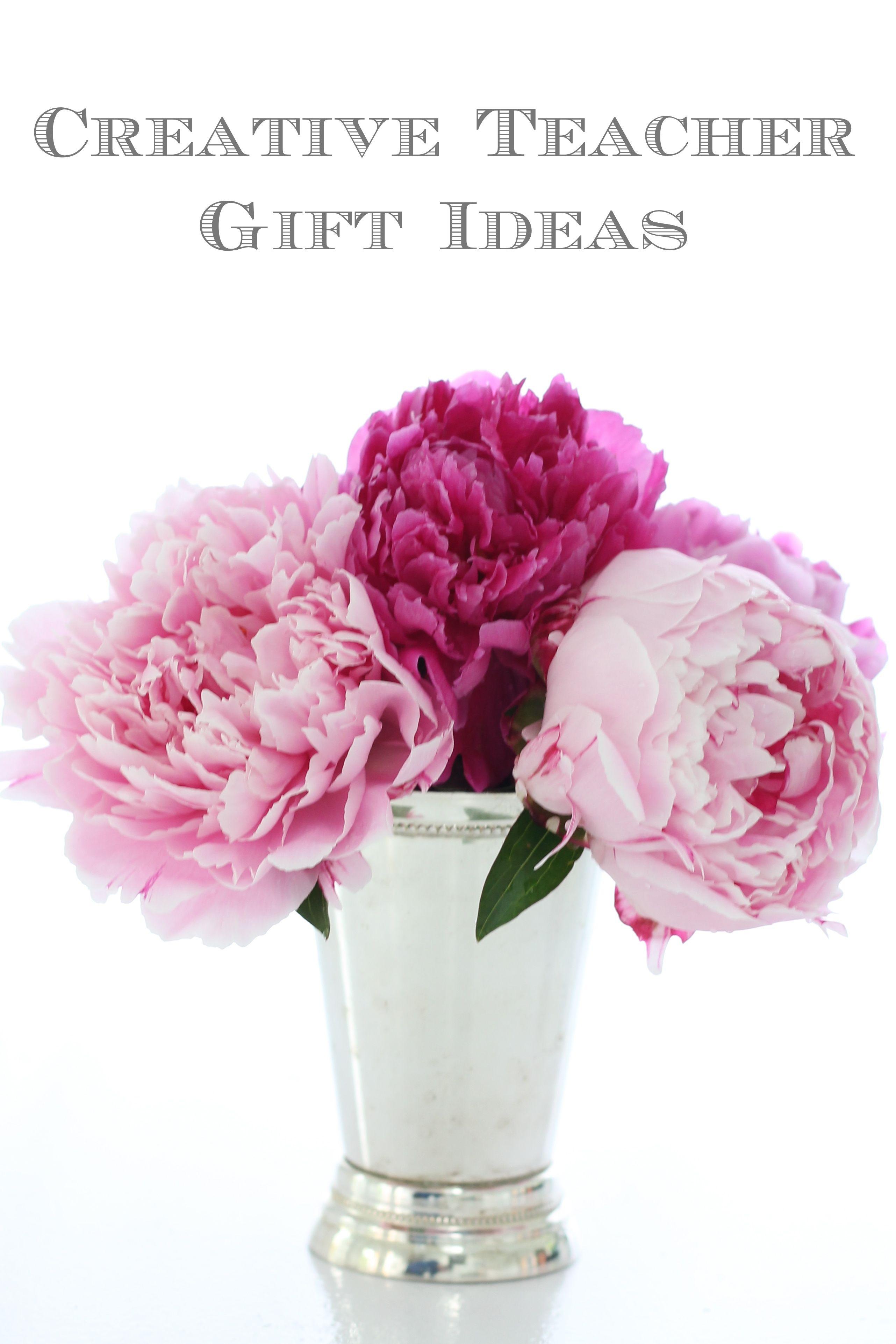 creative ideas for teacher gifts  www.julieblanner.com