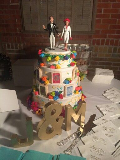 mexican themed wedding cake toppers my loteria cinco de mayo themed wedding cake la dama y el 17284
