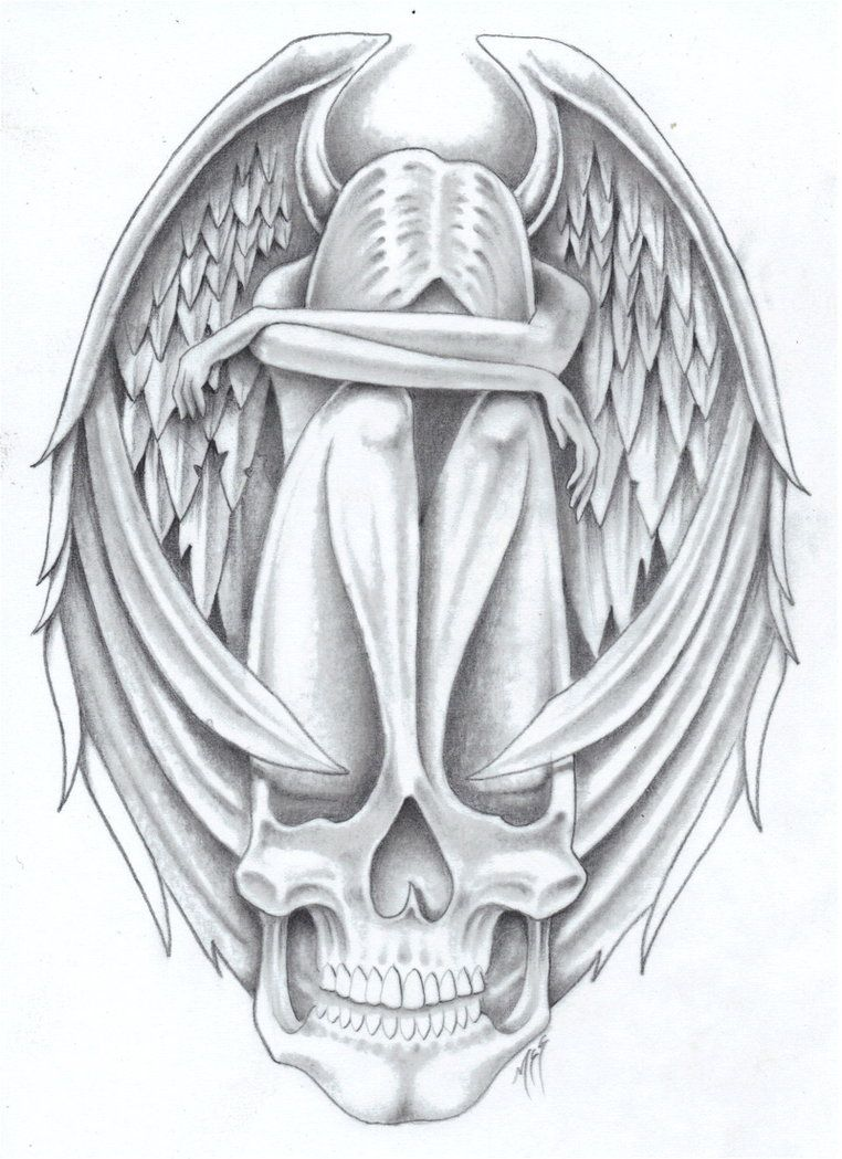 Tribute to dollface1985 by markfellows on deviantart for Dark angel coloring pages