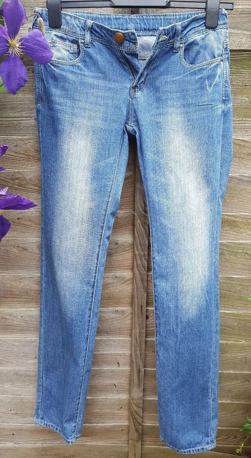 08c4c3798 ZARA Denim Blue Jeans Girls Size 11-12 Yrs 152 cm 28W 30L in Clothes ...