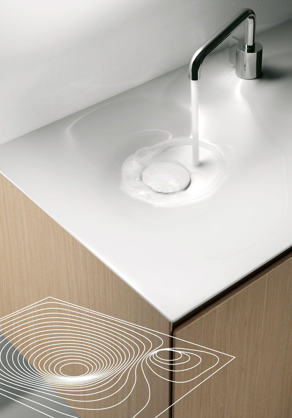 Afbeeldingsresultaat voor corian bathroom sink flow   Badkamer ...