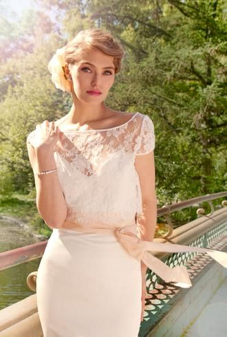 Schone Bridal: Ann-Marie Wedding Dress $1998.00  ~ Hustle Your Bustle