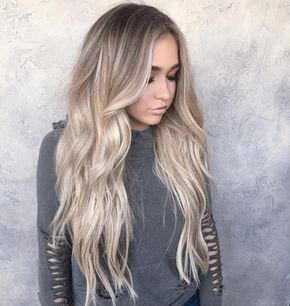 Cool tone ash blonde by Chrissy Rasmussen #ombrehair #naturalashblonde