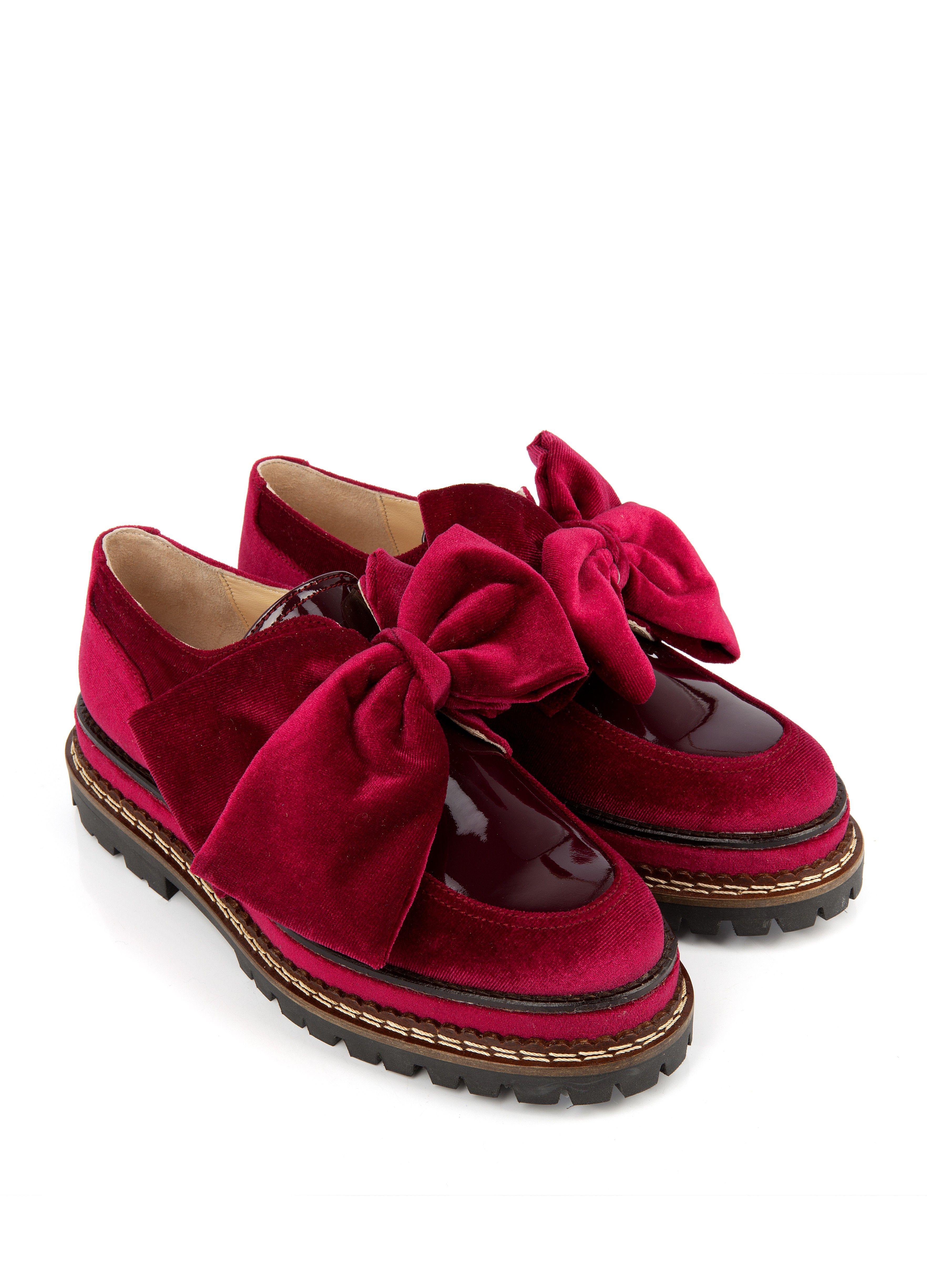 Femme Texas Mocassins Derbyamp; Rouge Chaussures Mocassin wmNn08