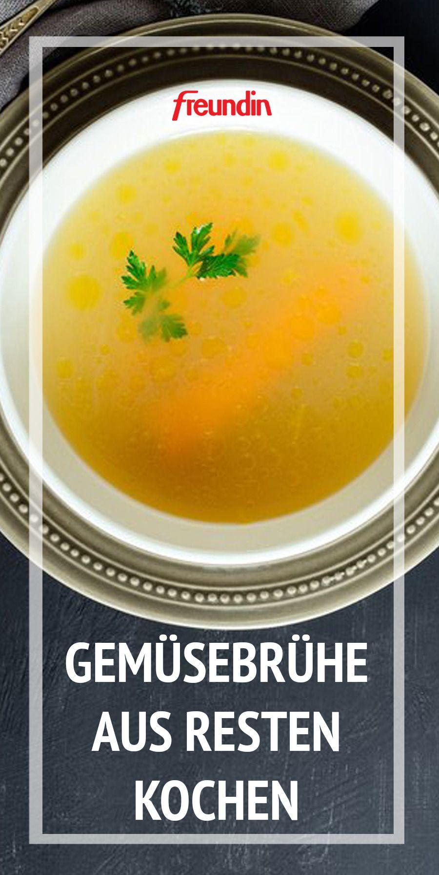 Gemüsebrühe aus Resten selber machen: Rezept | freundin.de