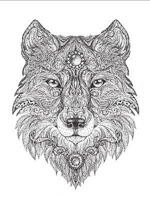 Art Meditation: 18 Free Coloring Pages For Adults ♥ ⋆ LonerWolf ...
