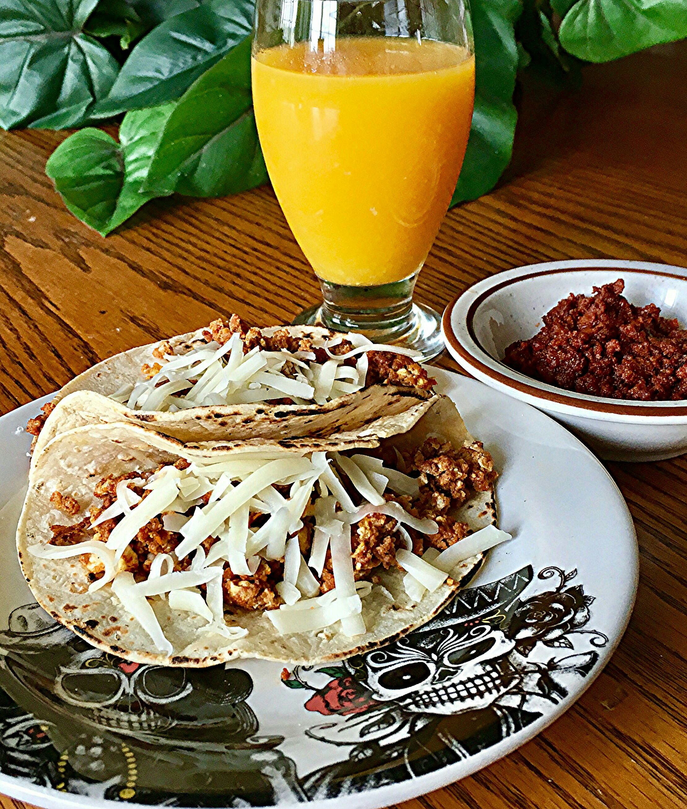 Authentic mexican breakfast tacos recipe with images