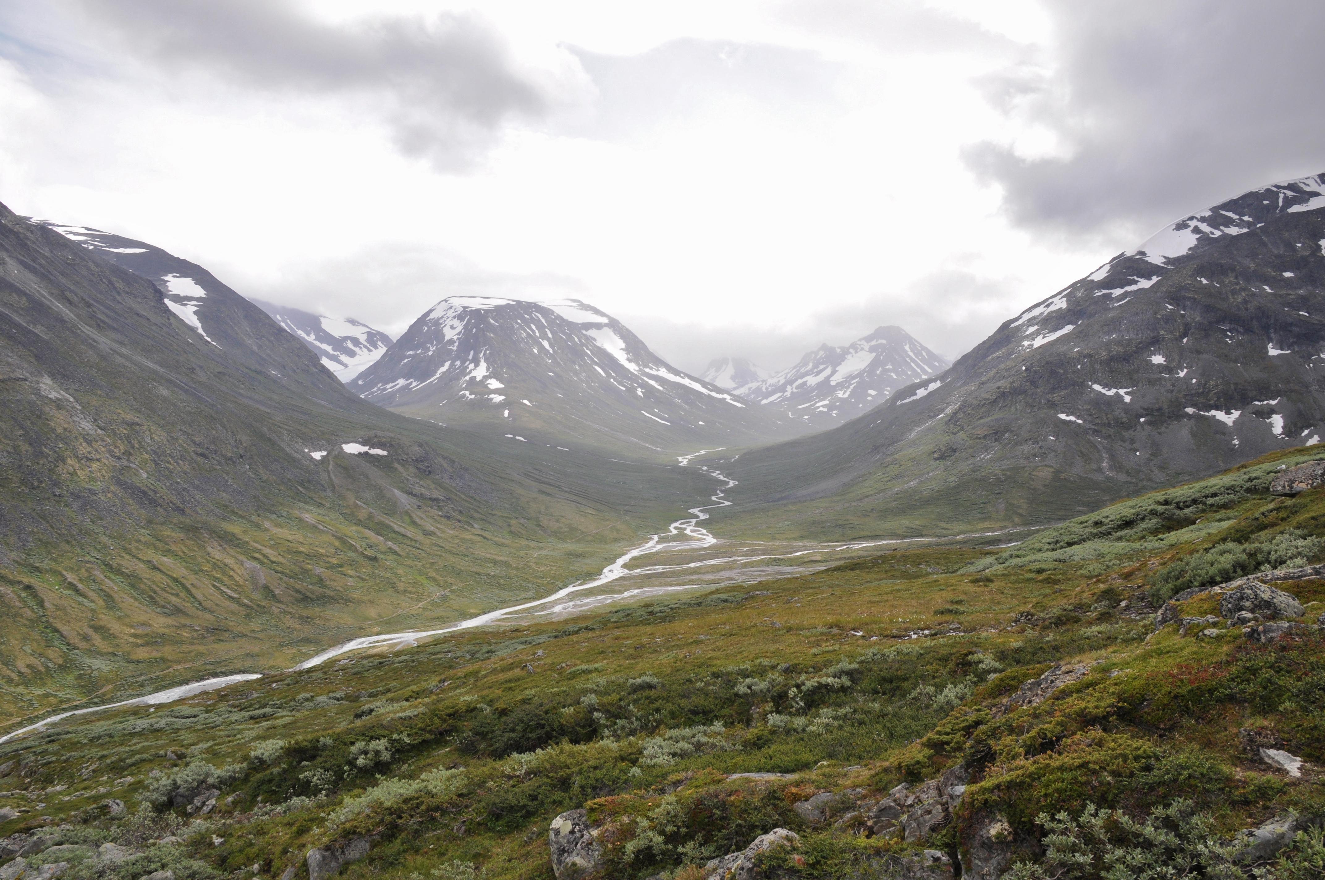 Halfway up the Galdhøpiggen Mountain Visdalen Norway [OC][4288  2848]