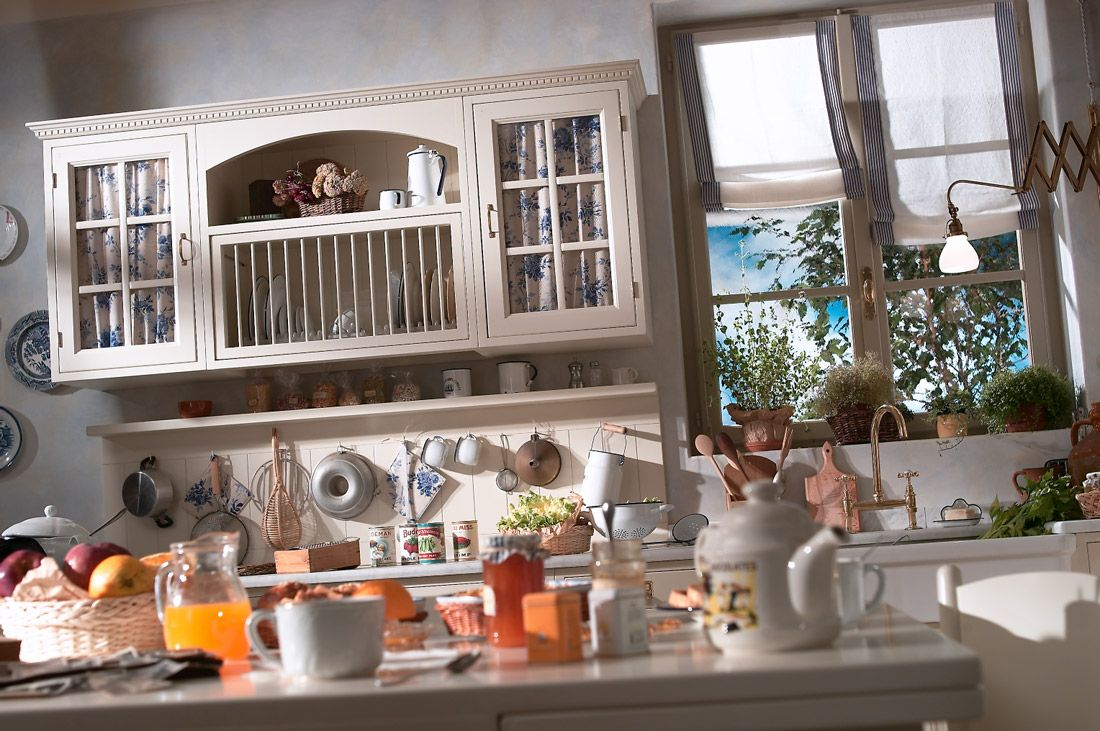 Old England by Marchi Cucine, l\'autentica cucina inglese | Country ...