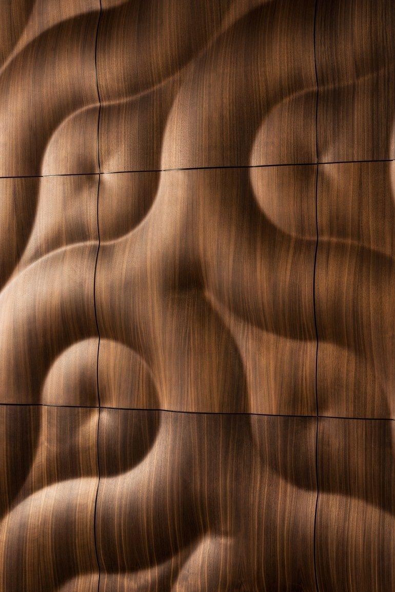Modular wooden #3D Wall Panel BURAN by MOKO #wooe