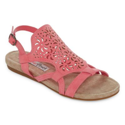 2f2b498d785 2 Lips Too Clare Womens Flat Sandals