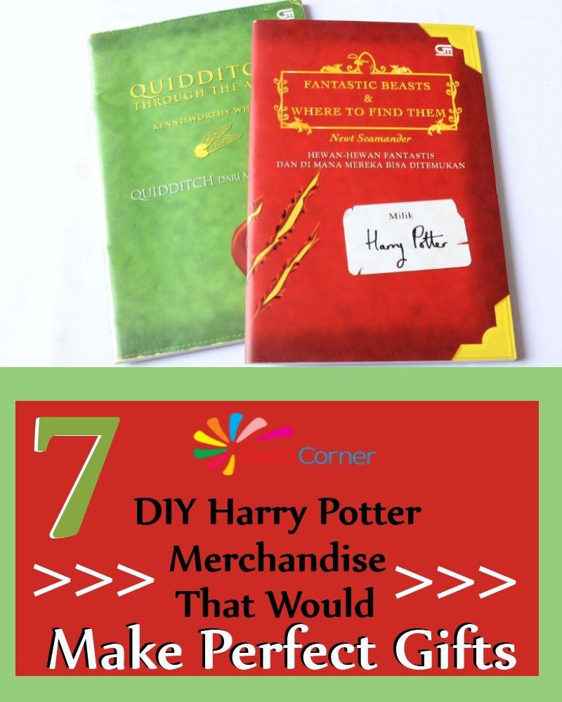 7 Brilliant DIY Harry Potter Merchandise That Would Make ...