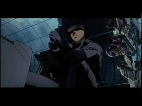 Ghost In The Shell Final Battle Sequence Spider Tank Scene Youtube Ghost In The Shell Ghost Scene