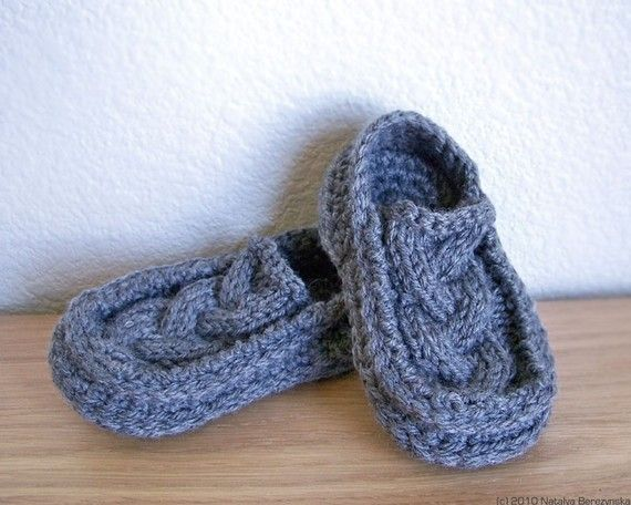 Crochet Pattern Baby Booties Pattern Knit Crochet por natalya1905 ...