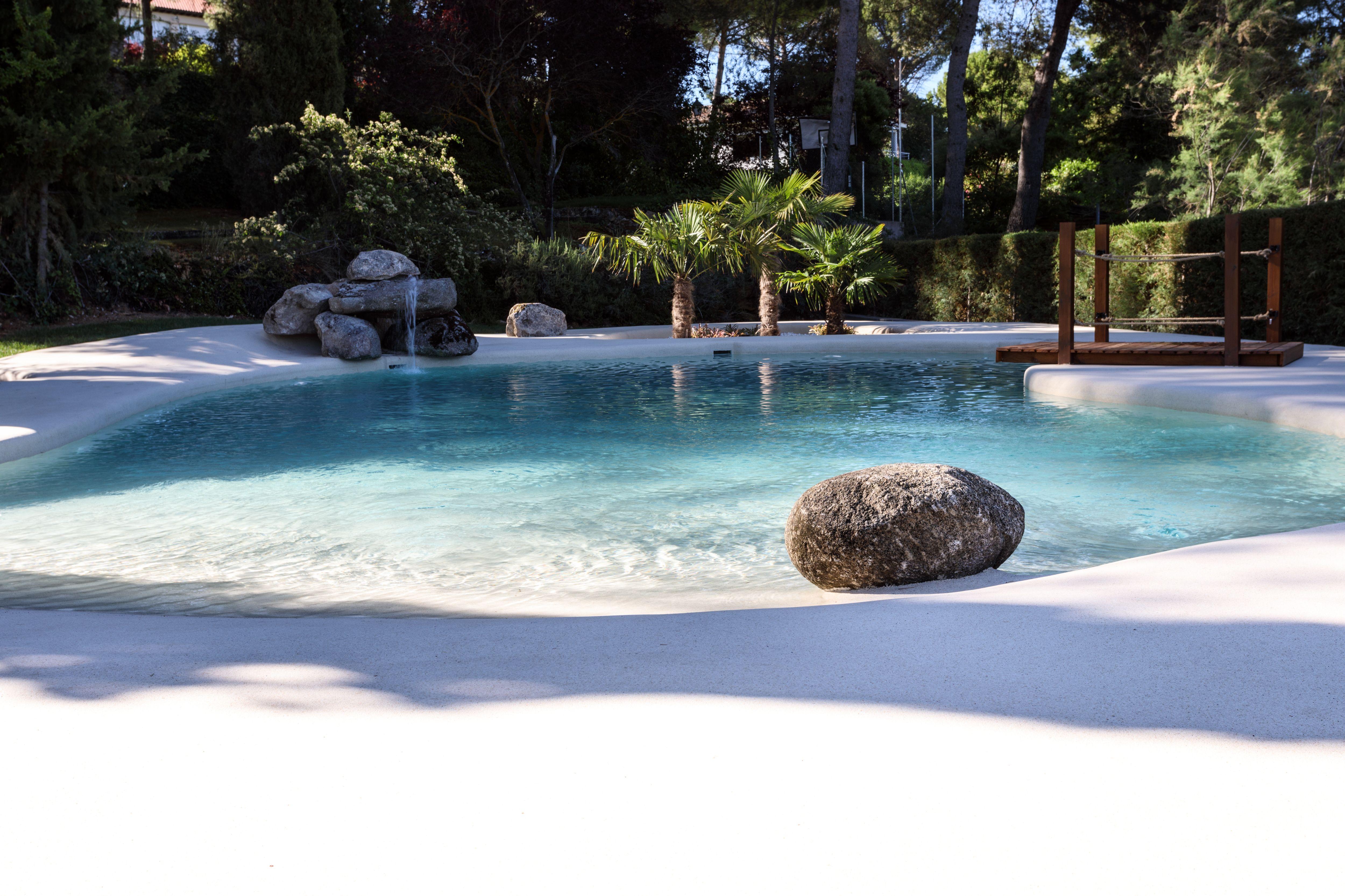 Esta preciosa piscina de arena está en un vivienda de Guadalajara ...