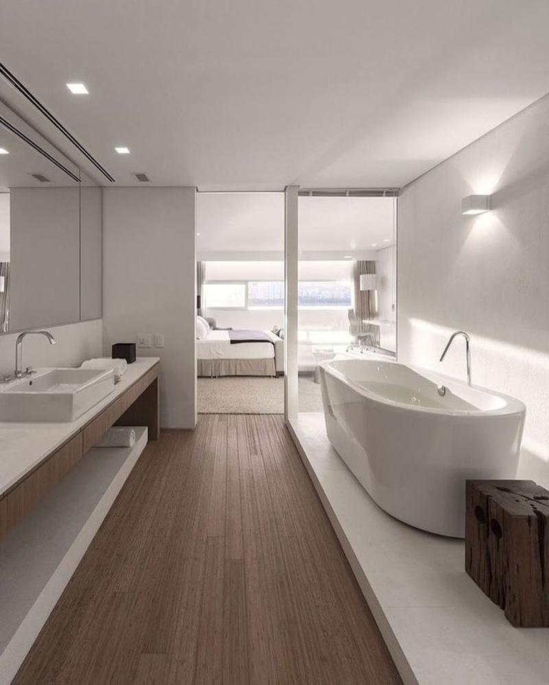 25 Best Ideas About Modern Interior Design On Pinterest Modern Interior Modern House House Design Ins Bathroom Interior Design Open Bathroom Bathroom Interior