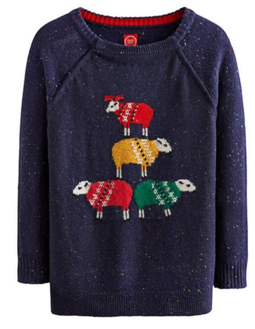 Womens Sheep Sweater from THE LUCKY KNOT