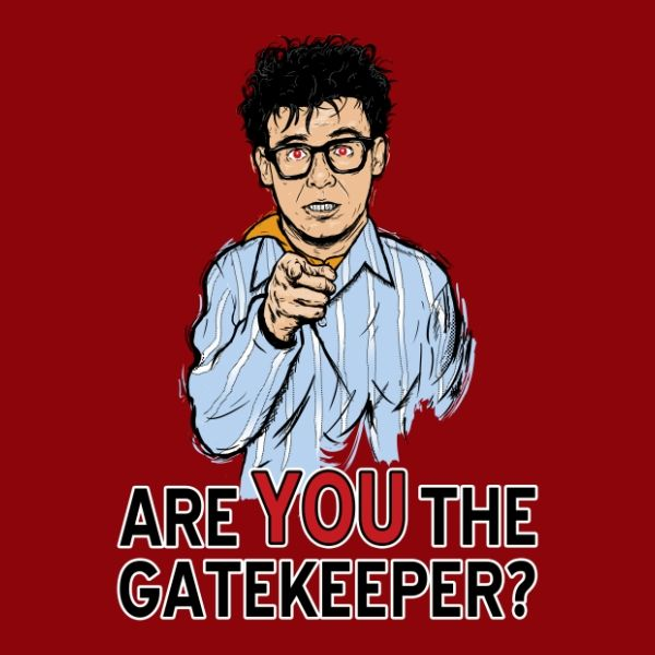 Are You The Gatekeeper Ghost Busters Ghostbusters Movie Art