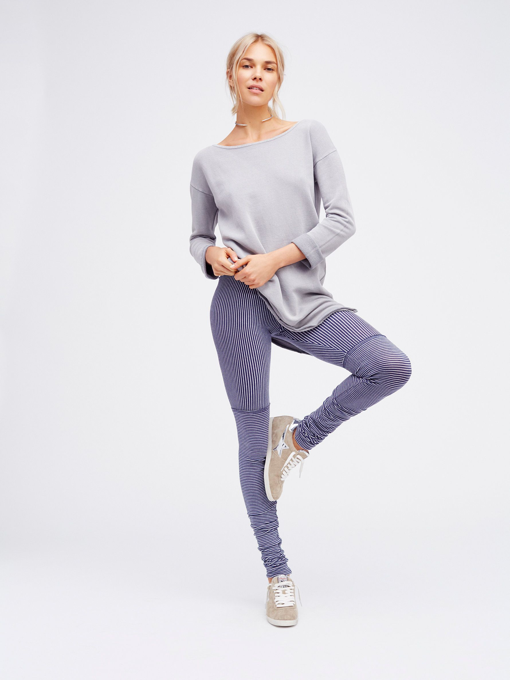 Stripe Soft Legging //