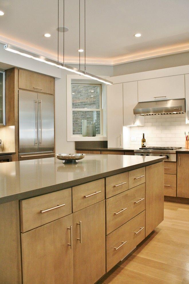 Holz-Küchen sind mit dem richtigen Material und passender Deko total - arbeitsplatte holz küche
