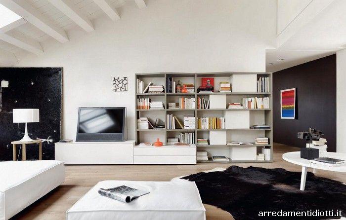 Mobili Diotti ~ Libreria modo componibile diotti a f arredamenti furniture