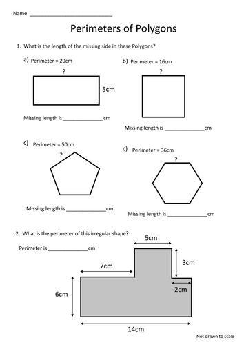 Image Result For Area And Perimeter Missing Sides Worksheet Perimeter Worksheets Area And Perimeter Elementary Worksheets
