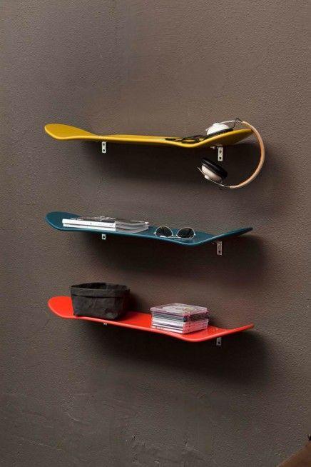 The skate shelves
