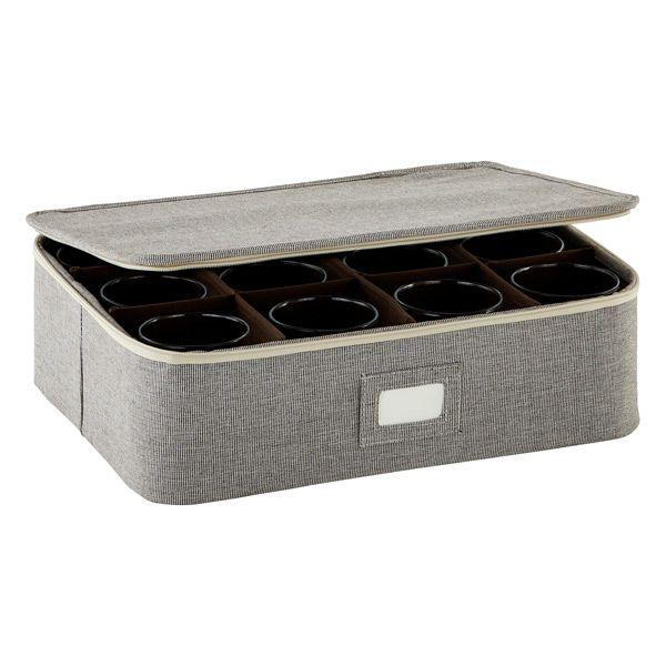 Brown Cup Mug China Storage Case Mug Storage China Storage Wine Glass Storage