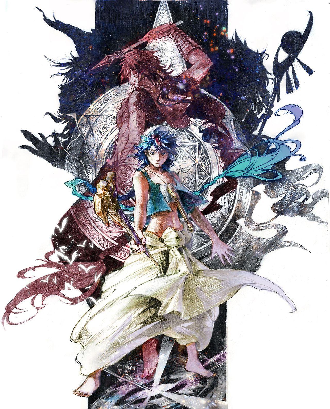 MAGI The Labyrinth of Magic Anime magi, Magi judal, Magi