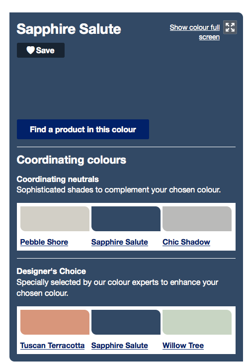 Sapphire Salute from Dulux | Master bedroom | Pinterest ...
