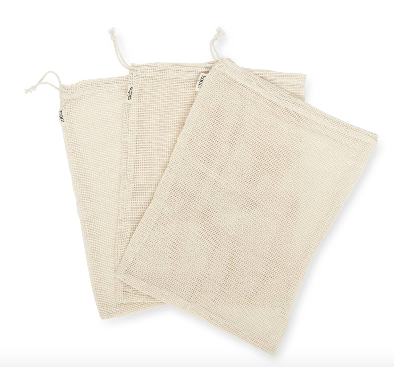 Reusable Mesh Produce Bags By Kappi Life In 2020 Produce Bags Reusable Produce Bags Reusable