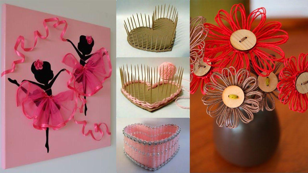 DIY ROOM DECOR! 24 Easy Crafts Ideas at Home Rękodzieło