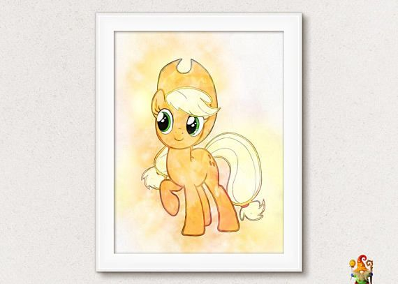 My Little Pony print Nursery poster wall art Printable download My ...